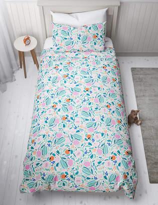 Marks and Spencer Floral Reversible Bedding Set