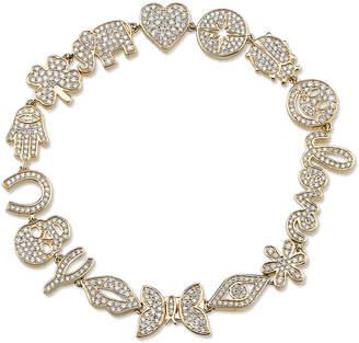 Sydney Evan 15th Anniversary Icon Bracelet with Diamonds