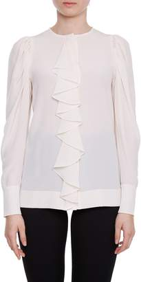 Stella McCartney Silk Crepe De Chine Blouse