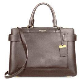 MICHAEL Michael KorsMichael Kors Collection Audrey Large Leather Satchel
