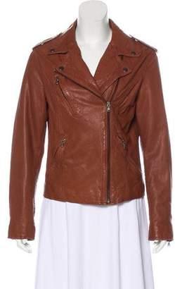 Barneys New York Barney's New York Lightweight Leather Jacket w/ Tags
