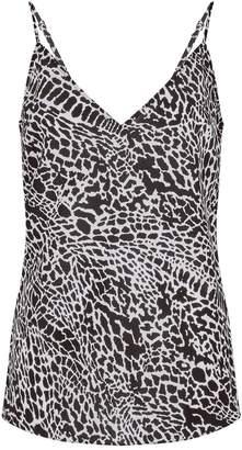 Frame Animal Print Camisole Top