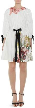 Ted Baker Tuleela Tranquility Bow-Trim Dress
