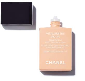 Chanel Vitalumière Aqua Ultra-Light Skin Perfecting Sunscreen Makeup Broad Spectrum SPF15