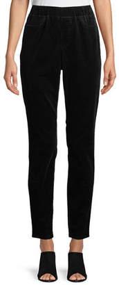 Eileen Fisher Fine Wale Corduroy Skinny Pants, Petite