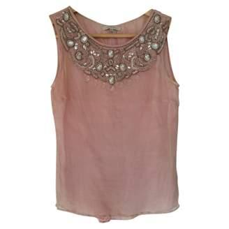 Ventilo Armand Pink Silk Top for Women