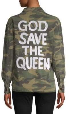 Camo Print Queen Jacket