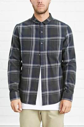Forever 21 Classic Plaid Flannel Shirt