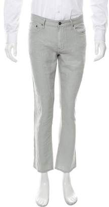 John Varvatos Cropped Linen Pants