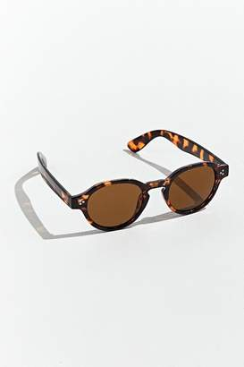 Urban Outfitters Plastic Prep Keyhole Round Sunglasses