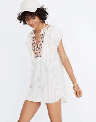 Embroidered Belize Cover-Up Tunic