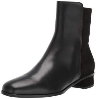 Aquatalia Women's Lissa Calf/Suede Ankle Boot Black 10.5 M US