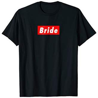 Bride to Be Bachelorette Wedding Streetwear Fashion Shirt