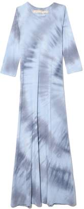 Raquel Allegra 3/4 Sleeve Drama Maxi in Lunar Tie Dye