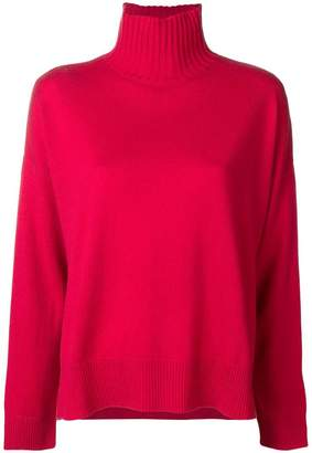 Pinko boxy roll neck sweater