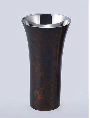 [漆磨]黒漆 シングルカップ コースター付