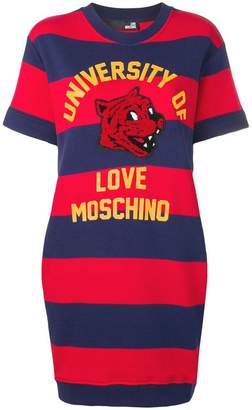 Love Moschino striped T-shirt dress
