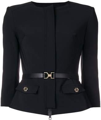 Elisabetta Franchi fitted waist jacket