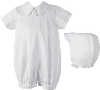 Keepsake Christening Romper Gown - Baby Boys