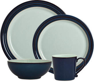 Denby Dinnerware Peveril Collection Stoneware 4-Piece Place Setting