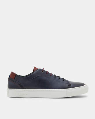 Ted Baker DUUKE Brogue detail leather sneakers