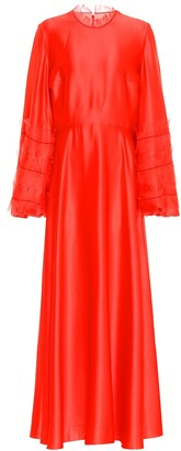Roksanda Kamau silk-satin gown