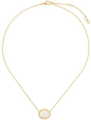 Astley Clarke mother of pearl floris pendant