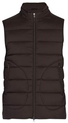 Herno Legend Quilted Down Gilet - Mens - Brown