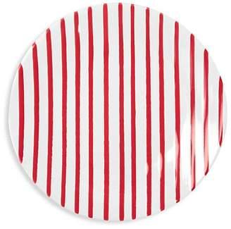 Vietri Red Stripe Salad Plate