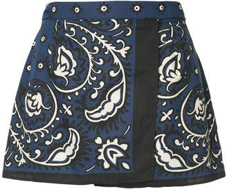 RED Valentino printed style shorts
