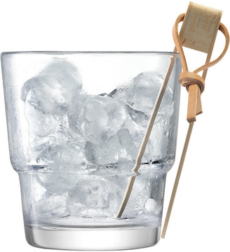 LSA International Mixologist Cocktail Ice Bucket & Tongs