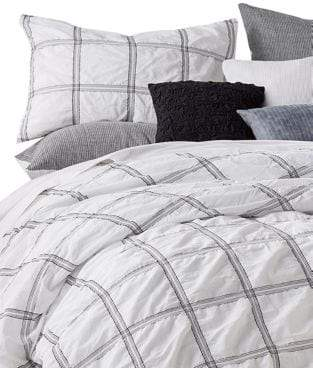 DKNY Check Please Cotton Duvet Cover