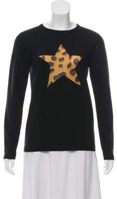Bella Freud Cashmere Star Sweater