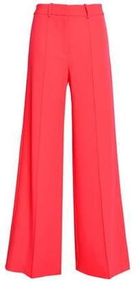 Milly Hayden Stretch-knit Wide-leg Pants