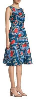 Escada Dsiwana Floral A-Line Dress