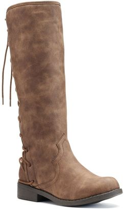 Candie's® Girls' Lace-Up Riding Boots $64.99 thestylecure.com