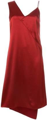 Cédric Charlier asymmetric slip dress