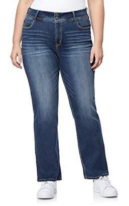 WallFlower Junior's Plus-Size InstaStretch Luscious Curvy Bootcut Jeans