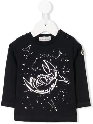 Moncler long-sleeve printed T-shirt