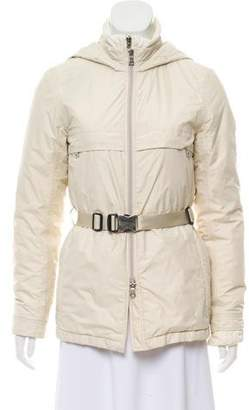 Prada Sport Short Puffer Coat