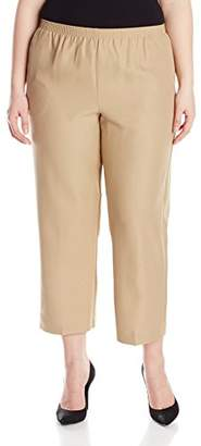 Alfred Dunner Women's Plus-Size Poly Proportioned Short Pant
