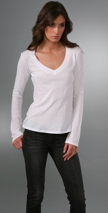James Perse Relaxed Casual V T-Shirt