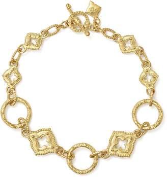 Armenta 18K Yellow Gold Sueno Sculpted Circle Link Bracelet