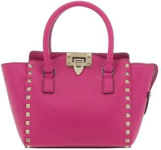 Valentino GARAVANI Tote Bags Rockstud Mini Bag In Genuine Smooth Leather With Metal Studs