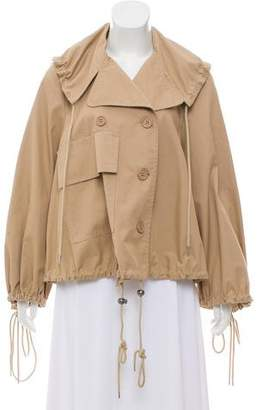 See by Chloe Double-Breasted Collared Coat