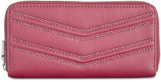 INC International Concepts I.n.c. Marney Double Zip Around Wallet, Created for Macy's