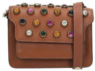 Lola Cruz Leather-colored Leather Bag