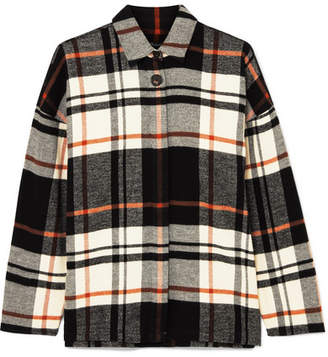 Madewell Checked Brushed Cotton-flannel Shirt