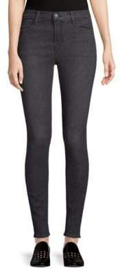 J Brand High-Rise Stretch Skinny Jeans