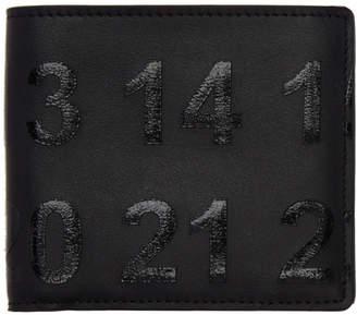 Maison Margiela Black Logo Wallet